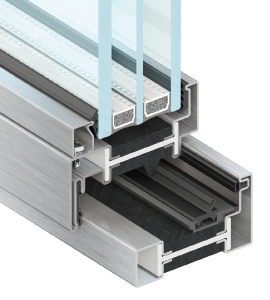 EBE 85 Steel Window and Door Frame