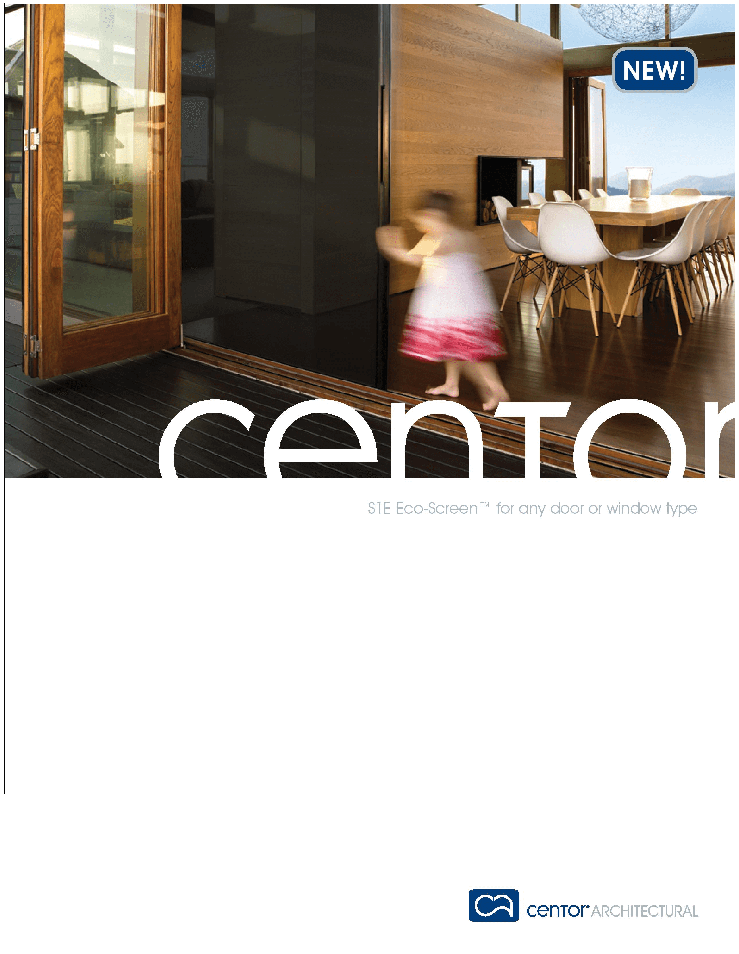 CENTOR Screen and Shade System Brochure - Thermally Broken Steel USA