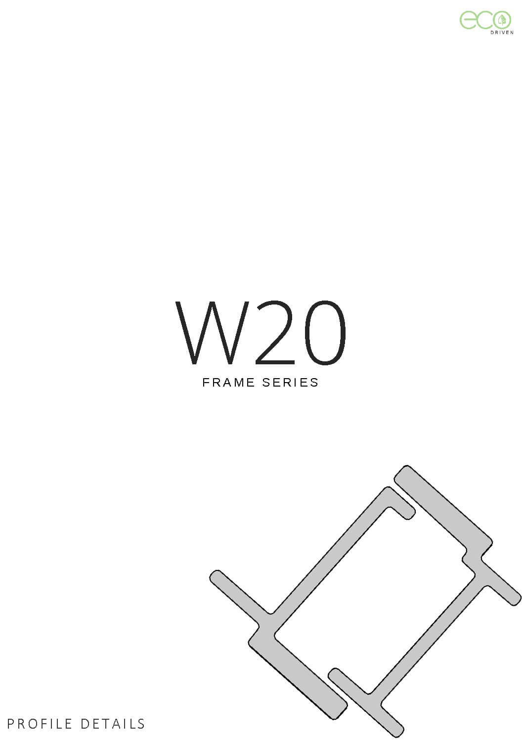 W20 Section Details